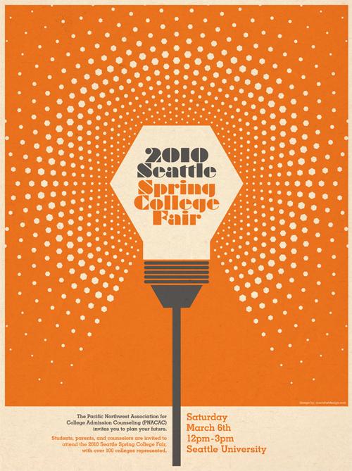 college fair poster